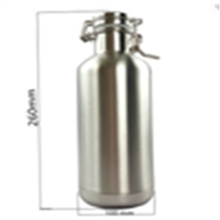 New Style Stainless Steel Bottle Growler 32oz Double Wall
