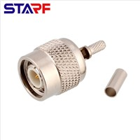 RF Coaxial Connector TNC-C-J3 Male Head Crimped RG58 Extension Connector