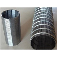 High Precision Wedge Wire Screen Filter Pipe
