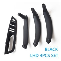 4PCS Full SET Interior Door Armrest Panel Pull Handle Trim Replacement for BMW X5 X6 E70 E71