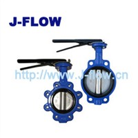 Ductile Iron Body PN16 Butterfly Valve