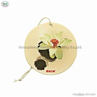 Different Fragrance Square Pattern Statue Paper Air Freshener Car in City Series