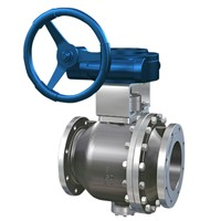 Fixed Type Ball Valve Applied in the Condition with High Pressure & Large Diameter for the Medium