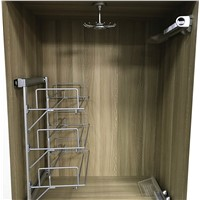 SR03B Three Layers Pull Out Shoe Racks Closet Accessories
