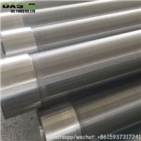 Stainless Steel Continuous Slot Wire Wrap Screens for Deep Well Drilling