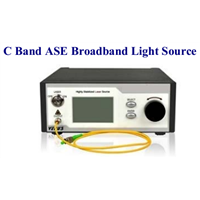 Techwin C Band ASE Broadband Light Source for Components Testing
