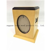 High Quality Customized Solid Wood Pet Urns Dog or Cat Funeral Cremation Casket for Pet Memorials