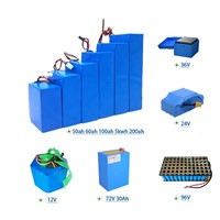 Electric Motorcycle Lithium Ion Battery Pack 60V 40Ah for Electric Scooter Ebike Battery Pack