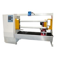GL- 702 Two Cutting Axis Automatic Adhesive Tape Log Roll Converting Machine