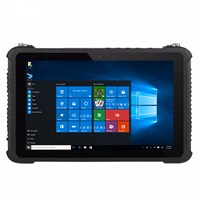 "Industrial Computer Military K16H Rugged Windows 10 Tablet PC 4GB RAM 64GB ROM IP67 Waterproof 10.1"" GPS 4G Fingerprint"