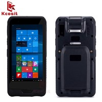 "Rugged Handheld Kcosit K62H 6"" Tablet Pocket PC Mini Computer Windows 10 IP67 Rugged Waterproof 2D Barcode Scannner"