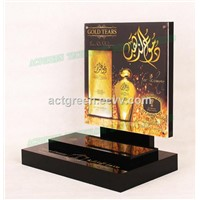 Perfume Fragrance Acrylic Counter Display Plexiglass Retail Display Stand Set AGD-073