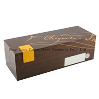 Customized Wine Packaging Box Wooden Champane Packaging Holder /Cases MDF Wine Storage Box for Gift