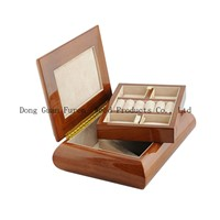 High Quality Customized Wooden Jewelry Storage Box/Cases Solid Wood Jewelry Organizer