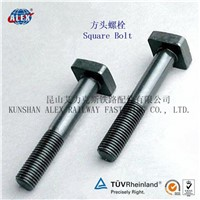 DIN 603 Railway Square Head Bolt with Nut