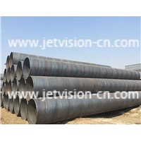 High Quality ASTM A53 GR. B Carbon Spiral Welded SSAW Steel Pipe