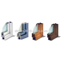 German Brand U-PVC Window Profiles