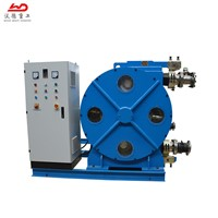 Large Output Hose Squeeze Pumps for Water Treatment & Papermaking with Peristaltic Chemical Pump