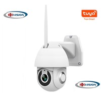 Tuya Outdoor Wireless Mobile Control Two Way Audio PTZ Camera