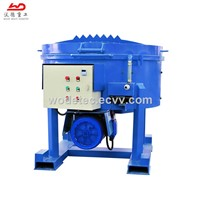 Electric Motor Driven Fast Speed 500kg Refractory Pan Mixer Price