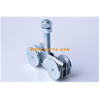 Popular Galvanized Hardware Door Wheels