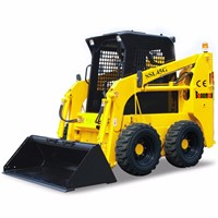 50HP Baoomas Skid Steer Loader with Various Attachments