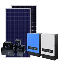 5KW Solar Panel System 5000Watt Hybrid Solar Home Power System