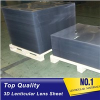 PS Animated 3D Lenticular Lens Sheet Blank 20lpi Flip Lenticular Panels Material for 3d Moving Pictures Brunei