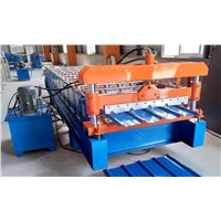China High Speed Roofing Sheet Roll Forming Machine