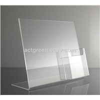Chinese Supplier Custom Made Acrylic Brochure Holder Leaflet Catalog Display AGD-308
