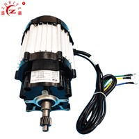 1500W 60V Brushless DC Permanent Magnet Synchronous Motor for Electric Tricycle