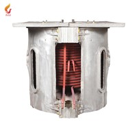 100kg Small Smelting Furnace China Scrap Aluminum Melting Furnace