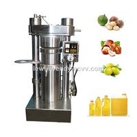 Hydraulic Cold Sesame Oil Press Machine Cocoa Oil Making Olive Oil Processing Machine
