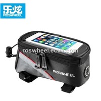 Wholesale ROSWHEEL 300D Water-Resistant Bicycle Top Tube Smart Phone Bag