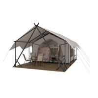 Factory Sell Canvas Glamping Hotel Safari Tent House