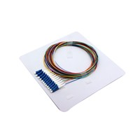 SC APC SC UPC Dual Round Duplex 2.0mm Single Mode Fiber Optic Pigtail PVC