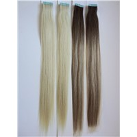 Tape in Hair 100% Human Remy Hair, Double Drawn.