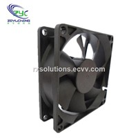 8025 DC 12V 0.3A Brushless Server Square Cooling Fan with Connector