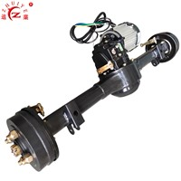 Tricycle / Auto Rickshaw Electric Rear Axle with 1500W Electric Motor