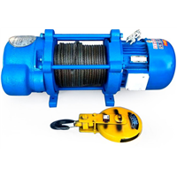 2 Ton Small Light Duty Electric Winch Cable Pulling Electric Winches