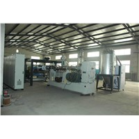 Embossed PC Solid Sheet Extruder Machine Plastic Sheet Extrusion Line