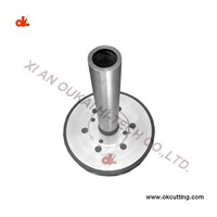 200mm Wire Saw Pulley with Shaft