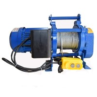 Electric Pulling Winch 380 Volt Electric Winch 2 Ton with 60m Cable