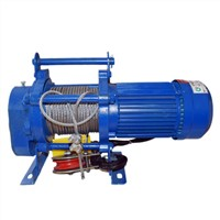 Electric Pulling Winch 380 Volt Electric Winch 0.6 Ton with 30m Cable
