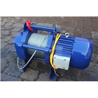 Electric Pulling Winch 380 Volt Electric Winch 2000kg with 60m Cable