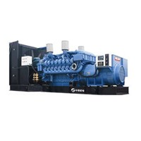 OPEN TYPE MTU DIESEL GENERATING SET