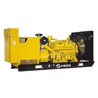 OPEN TYPE CATERPILLAR GENERATING SET
