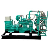OPEN TYPE MARSH GAS GENERATOR SET