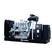OPEN TYPE SHANGHAI MITSUBISHI DIESEL GENERATING SET