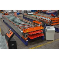 Double Layer Corrugated Roof Sheet Roll Forming Machine